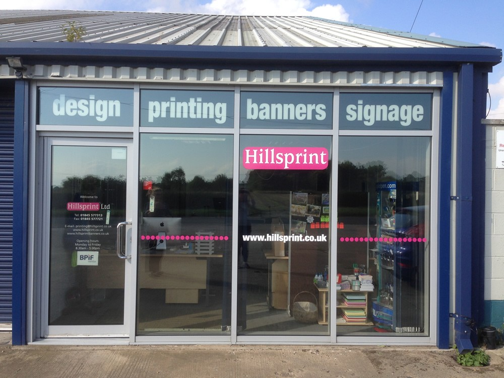Hillsprint Shop Front