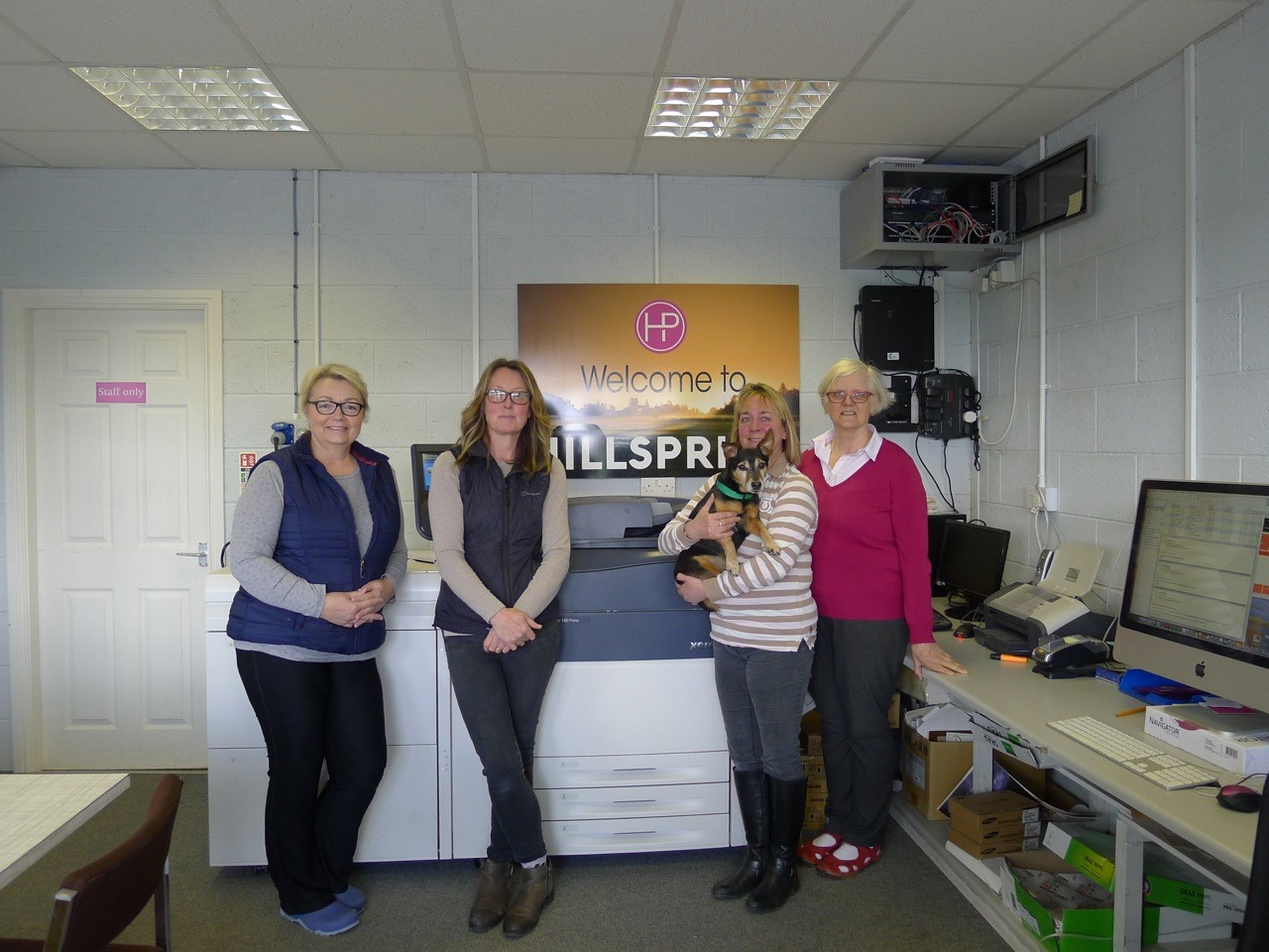 Meet The Team - LIndy, Sarah, Sue, Hootie And Rosey